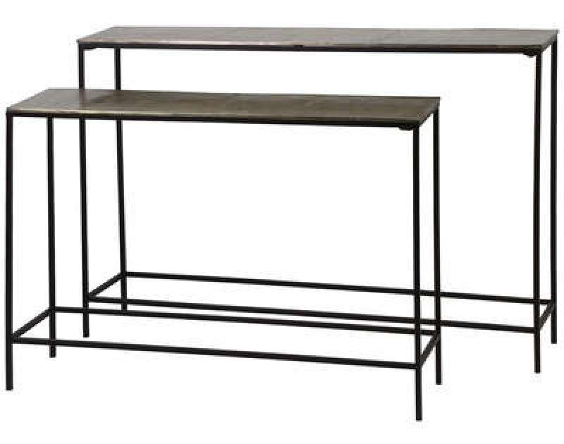 CONSOLE TABLE DARK BRONZE - CONSOLS, DESKS