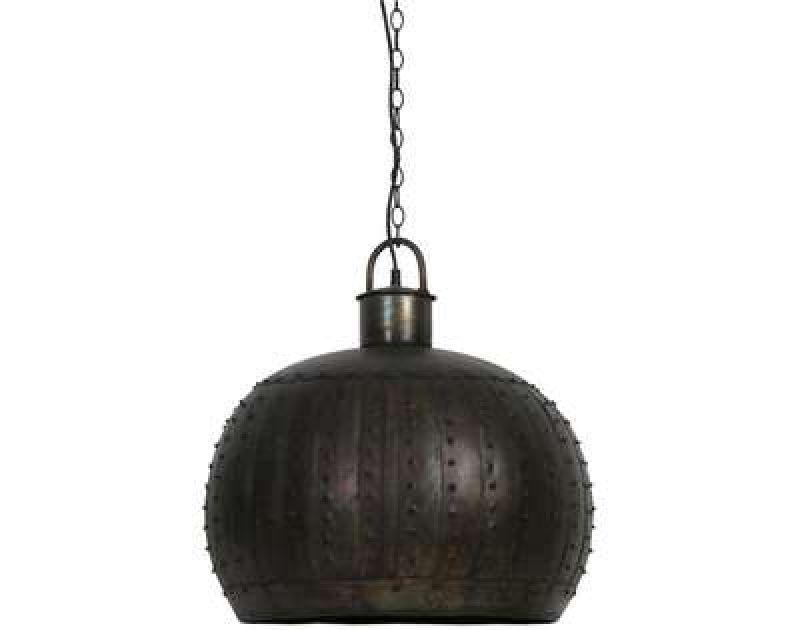 HANGING LAMP BLACK ZINC 55      - HANGING LAMPS