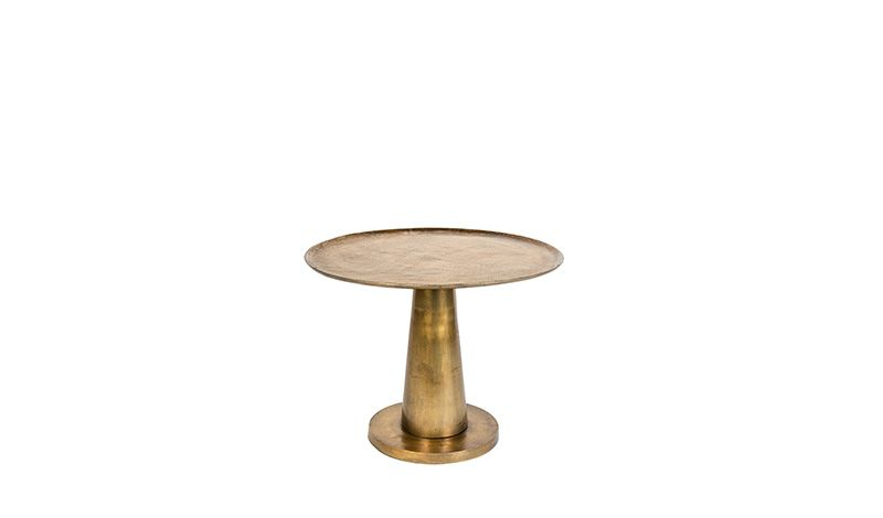 BRASS SIDE TABLE ANTIQUE FINISH     - CAFE, SIDETABLES