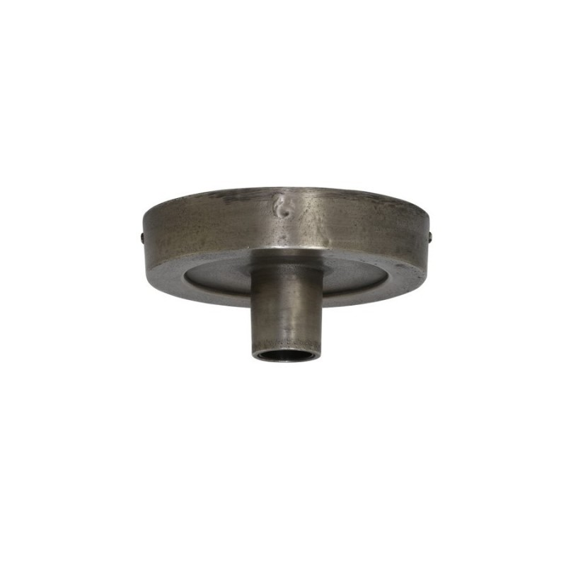 CEILING LAMP DARK RAW NICKEL