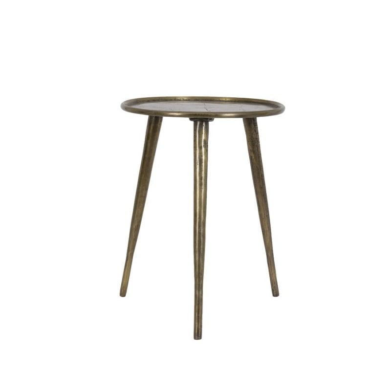 MATO SIDE TABLE BRONZE ANTIQUE