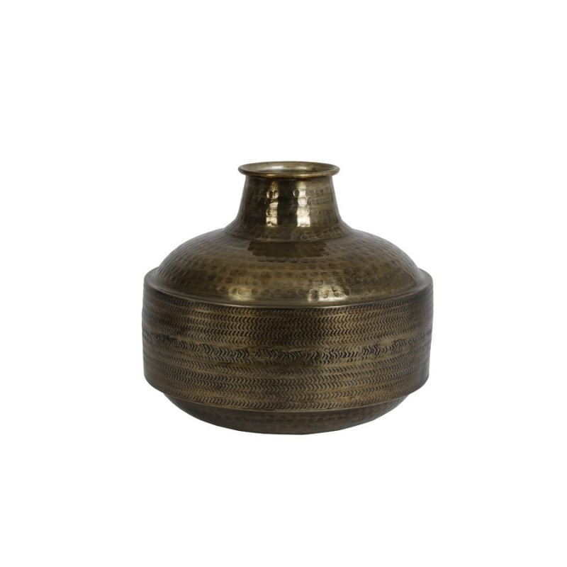 VASE MOROCCAN ANTIQUE BRONZ 40