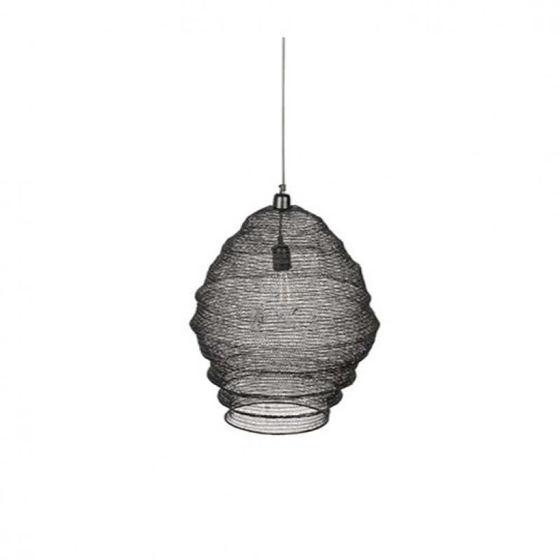 WIRE HANGING LAMP BLACK 9W      - HANGING LAMPS
