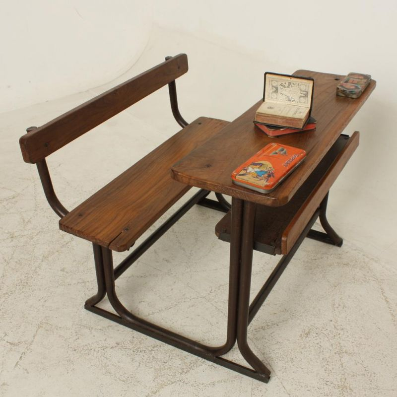 DOUBLE OLD SCHOOL CHAIR