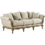 Sofa Pompadour Biscuit Antic
