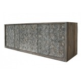 BUFFET CARVED ANTIK RUSTIC - CABINETS, SHELVES