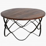 WAWE CAFETABLE ROUND LARGE     - CAFE, SIDETABLES