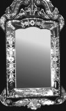 Venetian mirror standing rectangle