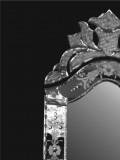 Venetian mirror standing rectangle
