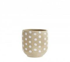 MAMA FLOWER POTS WITH DOTS
