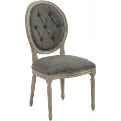 Chair Louise Capitonnée Anthracite