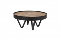WOOD TOP SIDETABLE     - CAFE, SIDETABLES