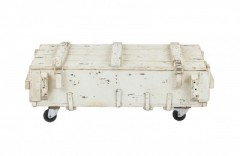 ARMY COFFEETABLE WHITE