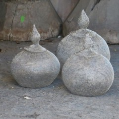 WIRE POT 3 SIZES