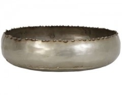 DISH GAJA ANTIQUE NICKEL