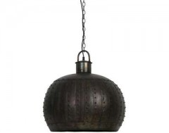 HANGINGLAMP BLACK ZINC 55