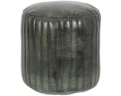 POUF LUKO GREEN    - CHAIRS, STOOLS