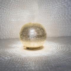 TABLE LAMP BALL SMALL GOLD