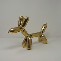 BRONZE DOG ANTIQUE FINISH