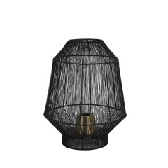 TABLE LAMP WIRE MATT BLACK
