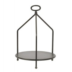 ETAGERE 1 LAYER DARK BRONZE