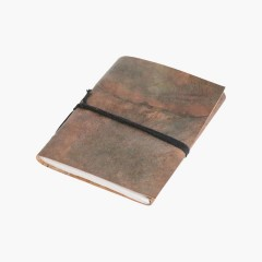 LEATHER TRAVELBOOK GREEN