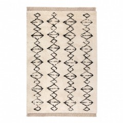 CARPET ZORRO BLACK AND BEIGE