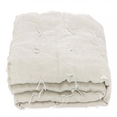 BED COVER DONDE NATUREL BEIGE