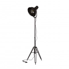 SPOTLIGHT FLOOR LAMP METAL BLACK