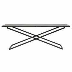 X SIDETABLE METAL BLACK XL