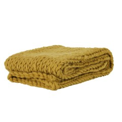HEAVY KNITTED BLANKET OKKER