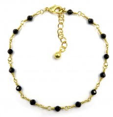BRACLET BLACK GOLD 16