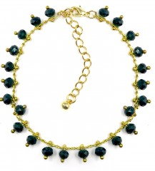 GBRACLET NAVY GOLD 7