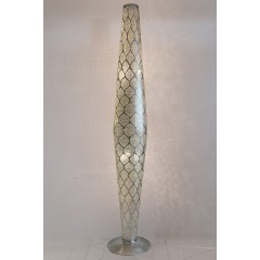 FLOOR LAMP MRS BRASS SILVER PLATED 180   - WALL LAMPS