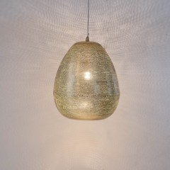 HANGING LAMP THR FLSK GOLD 50