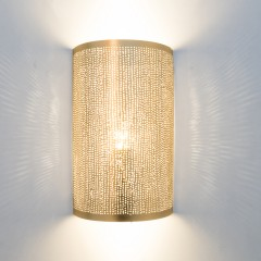 WALL LAMP FLSK GOLD 30   - WALL LAMPS