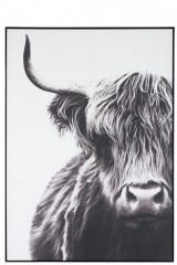 WALL DECO YAK PAPER BLACK AND WHITE