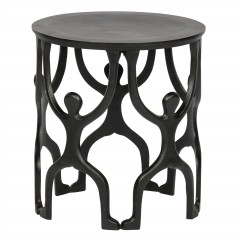 SIDETABLE MAN METAL BLACK