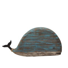 WOODEN BLUE WHALE LARGE