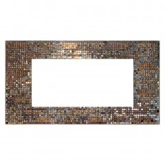 MIRROR RICH GLASS SHELL MOSAIC