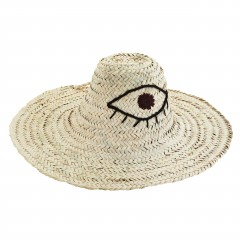 HAT STRAW EYE ONE SIZE