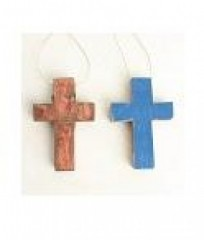 WOOD CROSS       - DECOR ITEMS