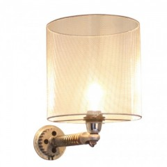 URBAN STEEL WALL LAMP  SHADE     - WALL LAMPS