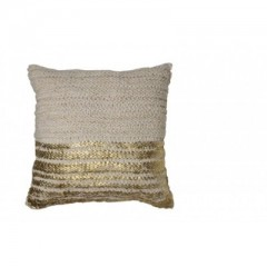 PILLOW GOLD or SILVER     - CUSHIONS