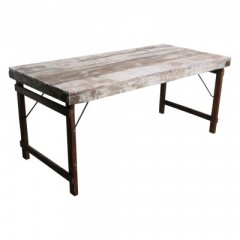 MARKET FOLDING DINING TABLE       - DINING TABLES