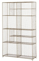 Standing Wire Rack Brass 126