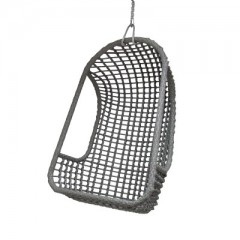 OUTDOOR HANGING CHAIR PE BLACK
