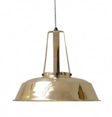 Workshop Brass Lamp      - HANGING LAMPS