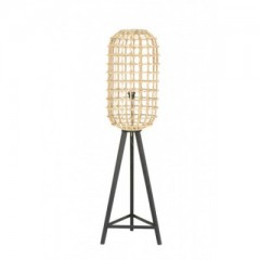 FLOOR LAMP LAMPION NATURAL RATTAN    - FLOOR LAMPS