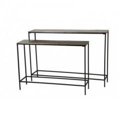 Conzole Tables Hartsville Dark Brown Bronze